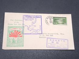 PHILIPPINES - Enveloppe Souvenir De La Grande Guerre  De Manille En 1942,affranchissement Occupation Japonaise - L 17166 - Philippines