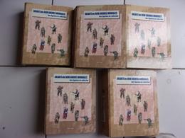 Lot 5 Classeurs SOLDATS DES DEUX GUERRES MONDIALES Des Figurines De Collection  Revues 1 à 100 Tbe Del Prado - Tin Soldiers