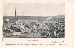 Liège Panorama 1900's - BORSTPILLEN De F. VERGAUWEN, Contre Toux, Bronchite, Asthme, Etc - CPA (UNC) - Liege