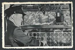 +++ CPA - Aviation - Avion - Aviateur - SABENA - Poste De Pilotage D'un Quadrimoteur - Nels   // - Avions