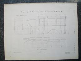 PUBBLICITA'/PUBLICITE' AUTOBUS 12 PLACES DE DION Da Rivista AUTO CARRROSSERIE 1927 - Cars