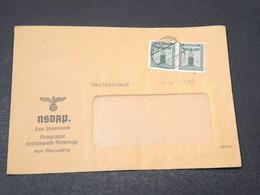 ALLEMAGNE - Enveloppe Du Parti National Socialiste De Rettenegg En 1940, Affranchissement Plaisant - L 17171 - Allemagne
