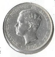 Portugal - D. Manuel II 500 Reis 1908 - Very Fine - Trés Beau - Portugal