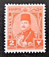 ROYAUME - EFFIGIE DU ROI FAROUK 1944/46 - NEUF ** - YT 224 - MI 227 - Egypt