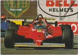 FERRARI-JACQUES VILLENEUVE-THE IMAGE BANK-81-GRAND PRIX-F1-VOYEZ LES 2 SCANS-TOP ! ! ! - Grand Prix / F1