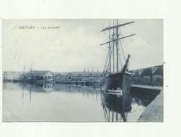 Bruges- Brugge - Boten - Les Bassins - Verzonden 1905 - Brugge