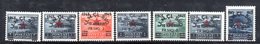 171 - 490 - ALBANIA 1945 , Serie  Yvert N. 319/325  ***  MNH - Albania