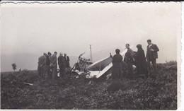MINI PHOTO---AVIATION---débris D'un Avion Abattu----voir 2 Scans - Photographie