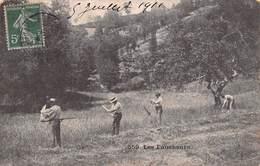Les Faucheurs 1911 - Scènes Champêtres Paysans Faucille - Agriculture
