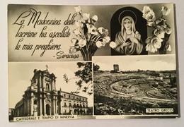 SIRACUSA - MADONNA DELLE LACRIME VIAGGIATA FG - Siracusa