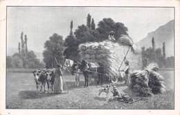 Les Moissonneurs - Fenaison Scènes Champêtre Paysan - Chocolat Louit - Par Seignol - Agriculture