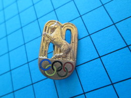 Pas Pin's Mais BROCHE Thème JEUX OLYMPIQUES / CHEVAL EQUITATION PEUT ETRE MONTREAL 1976 ? - Olympic Games