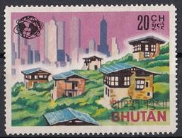 Bhutan Sc. Vecchie E Nuove Città - Bhutan