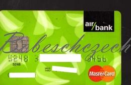 AK20 CZECH REPUBLIC  Air Bank - MasterCard - Credit Cards (Exp. Date Min. 10 Years)