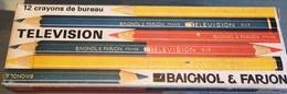 Boite Ancienne Baignol Et Farjon Avec 6 Crayons - Autres Collections
