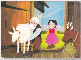 Germany Old Used Postcard - Heidi Cartoon - Cinema