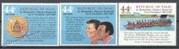 Palau 1986 Yvert Airmail 14-16, Tribute To First President Remeliik - MNH - Palau