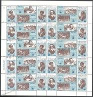 Palau 1983 Yvert 24-31, Bicentennial Capt. Wilson Voyage - Full Sheetlet - MNH - Palau
