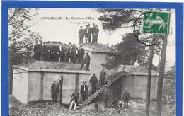 52 EURVILLE - Le Château D'eau - Très Animée - Autres Communes
