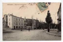 - CPA BRIOUDE (43) - Boulevard Vercingétorix 1907 (HOTEL DU BOULEVARD-TIXIER) - Edition D. Chouvet - - Brioude