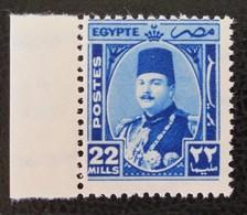 ROYAUME - EFFIGIE DU ROI FAROUK 1944/46 - NEUF ** - YT 232 - MI 277 - BORD DE FEUILLE - Egypt