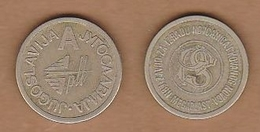 AC - JUGOSLAVIJA YUGOSLAVIA PTT TELEPHONE A TOKEN JETON - Monetary/Of Necessity