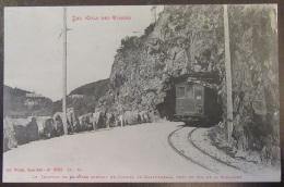 Vosges - Le Tramway De Münster Sortant Du Tunnel De Krafpenfels - Carte Animée Circulée Le 8 Avril 1916 - Lorraine