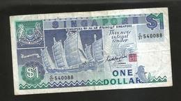 SINGAPORE - 1 DOLLAR (SHA CHUAN) - Singapore