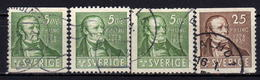 SCHWEDEN 1939 - MiNr: 253-254  Used - Schweden