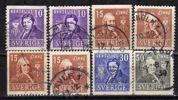 SCHWEDEN 1939 - MiNr: 272-275  Used - Schweden