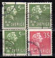 SCHWEDEN 1940 - MiNr: 277-278  Used - Gebraucht