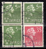 SCHWEDEN 1940 - MiNr: 277-278  Used - Schweden