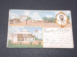 TOGO - Carte Postale - Gruss Aus Togo - Voyagé En 1899 Pour La Belgique - L 17200 - Togo