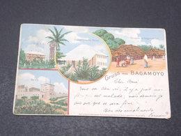TOGO - Carte Postale - Gruss Aus Bagamoyo - Voyagé En 1899 Pour La Belgique - L 17201 - Togo