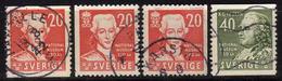 SCHWEDEN 1942 - MiNr: 291-292 Komplett  Used - Schweden