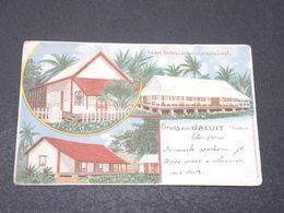 MARSHALL - Carte Postale - Gruss Aus Jaluit - Voyagé En 1899 Pour La Belgique - L 17202 - Marshall
