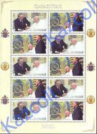 Kazakhstan 2001 . Visit Of Pope John Paul II To Kazakhstan. - Kazajstán