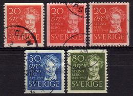 SCHWEDEN 1949 - MiNr: 346-348 Komplett  Used - Schweden