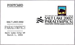 PARALYMPICS SALT LAKE 2002. Salt Lake City UT 2002 - Invierno 2002: Salt Lake City - Paralympic