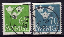SCHWEDEN 1949 - MiNr: 354-355  Used - Schweden