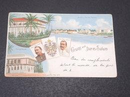 TANZANIE - Carte Postale - Gruss Aus Dar Es Salam - Voyagé En 1899 Pour La Belgique - L 17204 - Tanzanie