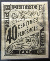 Colonies Françaises                TAXE 10                NEUF* - Portomarken