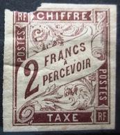 Colonies Françaises                TAXE 16                NEUF*       2° CHOIX - Postage Due