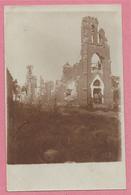 62 - GOMMECOURT - Carte Photo Militaire Allemande - Kirche - Eglise En Ruine - Guerre 14/18 - 3 Scans - Zonder Classificatie