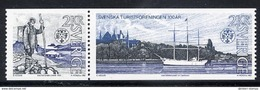SWEDEN 1985 Centenary Of Tourist Association MNH / **.  Michel 1340-41 - Sweden