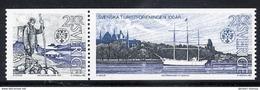 SWEDEN 1985 Centenary Of Tourist Association MNH / **.  Michel 1340-41 - Unused Stamps