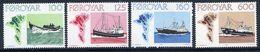 FAROE IS. 1977 Trawlers  MNH / **.  Michel 24-27 - Faroe Islands
