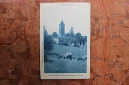 MEYMANS (26) - LE VIEUX CLOCHER DE L'EGLISE CISTERCIENNE DU XIIème SIECLE - Francia