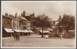 Market Square, Devizes, Wiltshire, 1935 - Valentine's RP Postcard - England