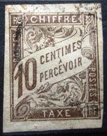 Colonies Françaises                TAXE 19                OBLITERE - Postage Due